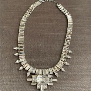 Banana Republic Crystal Statement Necklace